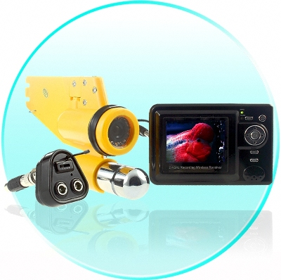 Wireless CCD Underwater Cam With Video Recorder